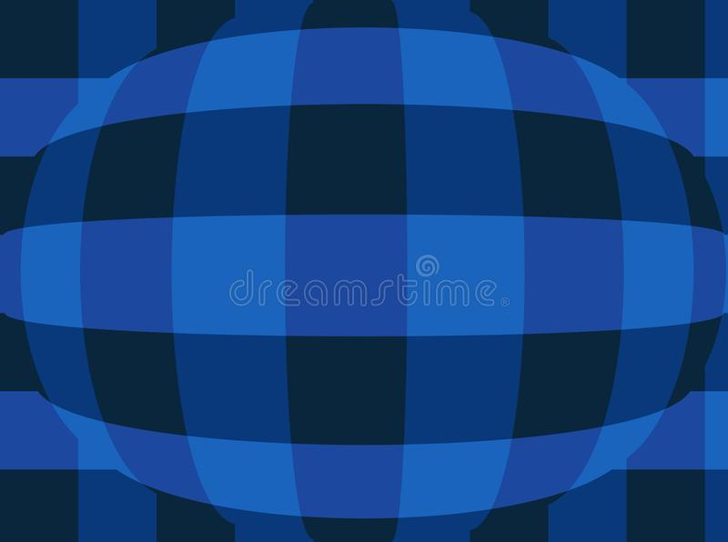 Sphere with checkers.Very beautiful, original background!. Sphere with checkers! Unique, beautiful, lovely, fine, original, fair background royalty free illustration