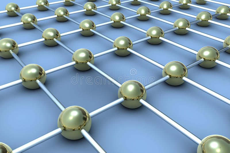 Download Sphere connections stock illustration. Image of link - 14857814