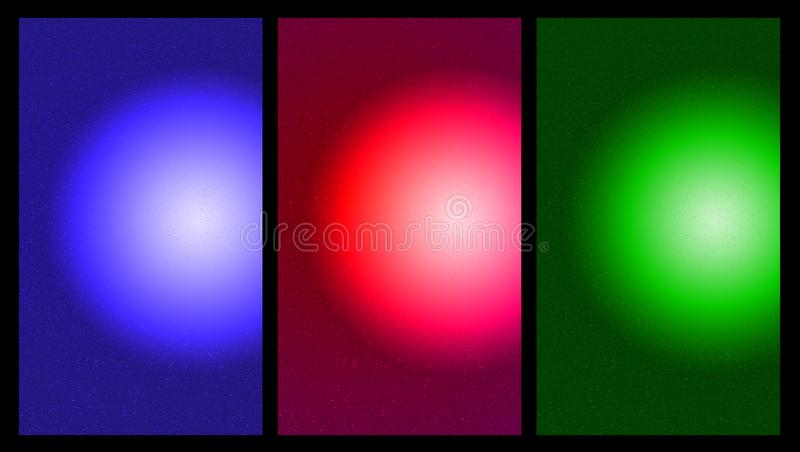Download Sphere Gradient Mixed Color Background Blue Circular Pattern Pink Green
