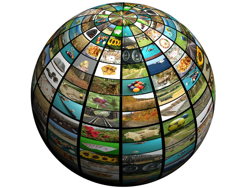Download Sphere tv stock image. Image of global, images, ball, broadband - 7278675
