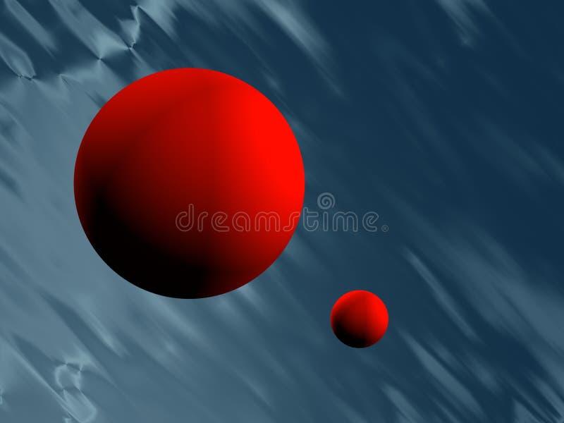 Download Spheres stock illustration. Image of dimensional, fondo - 3515868