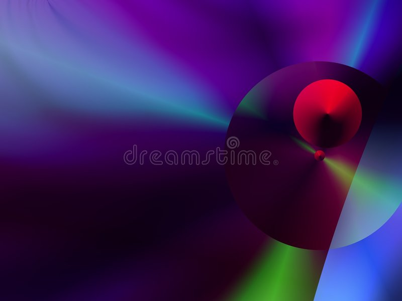 Download Spheres With A Mainly  Purple –blue  Background Stock Illustration - Image: 7601816