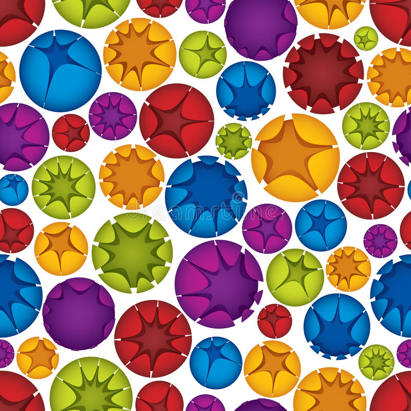 Download Spheres seamless pattern. stock vector. Image of pattern - 26563131