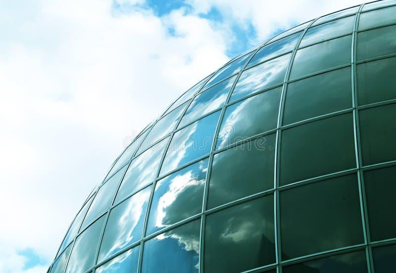 Spheric building stock image