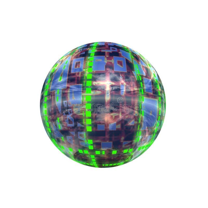 Download Spherical 3D button stock illustration. Illustration of ball - 5409621