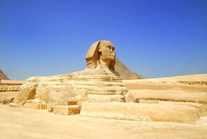Sphinx Ägypten lizenzfreie stockfotos