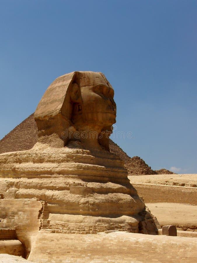 sphinx royaltyfri bild