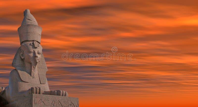 sphinx arkivbild