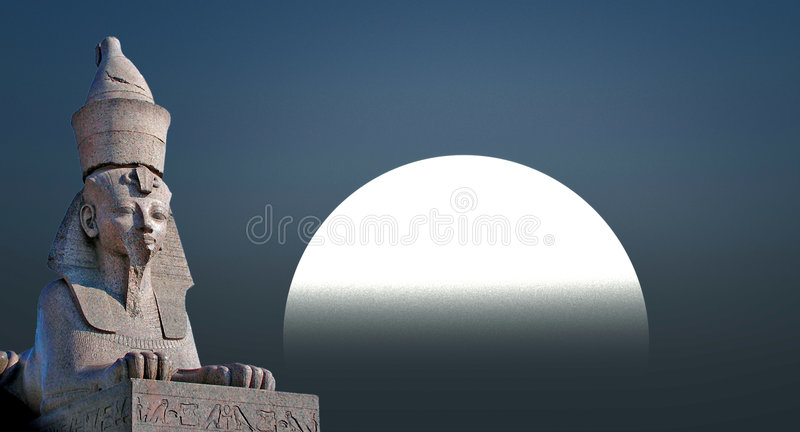 Download Sphinx stock illustration. Image of egypt, face, sculpture - 3166570