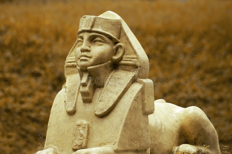 Sphinx stockbilder