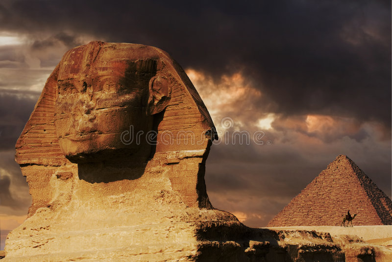 Sphinx stockfotografie