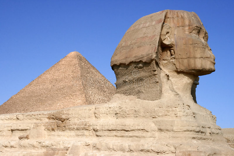 Sphinx stockfotos