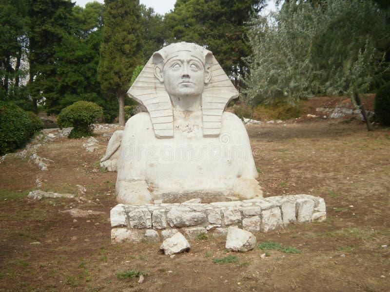 sphinx royaltyfri foto