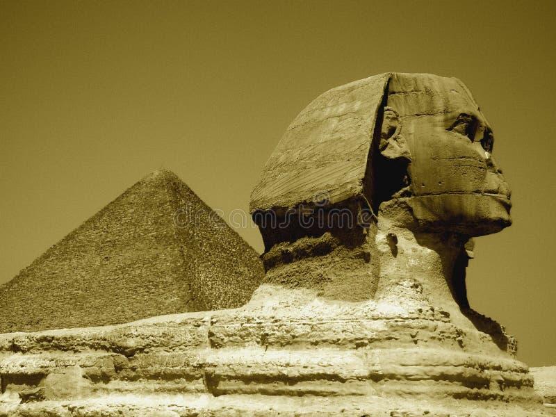 The Sphinx stock photography