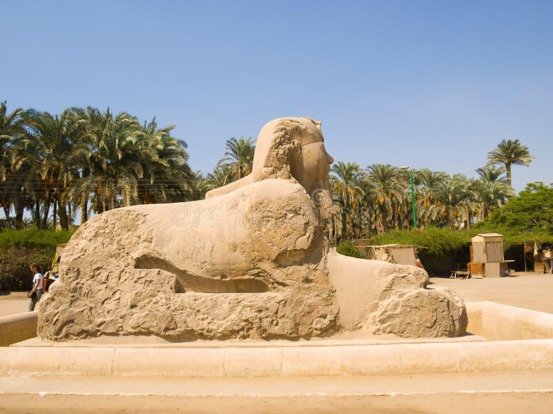 sphinx royaltyfria foton