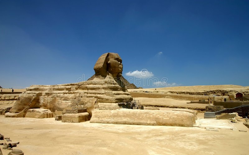 Download Sphinx stock image. Image of ancient, adventure, dynasty - 735515