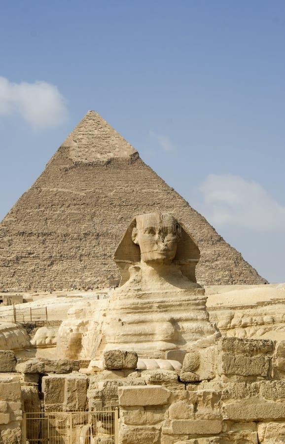 sphinx royaltyfria bilder