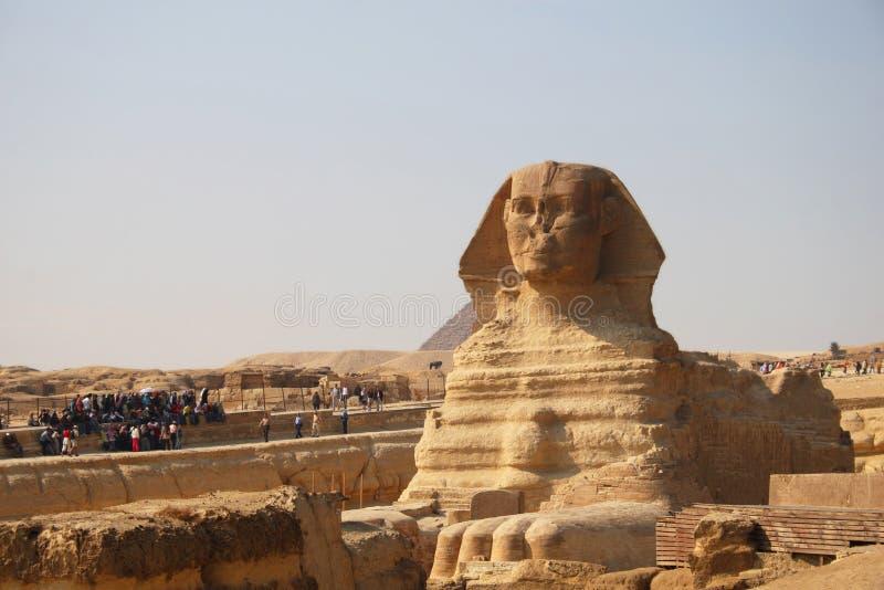 Sphinx antique de Giza photographie stock libre de droits
