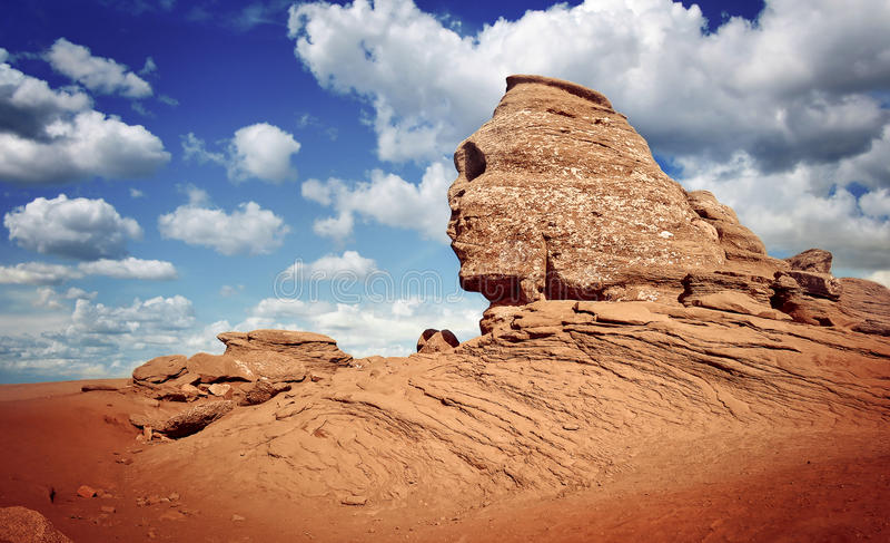 Sphinx Bucegi στη Ρουμανία στοκ εικόνες