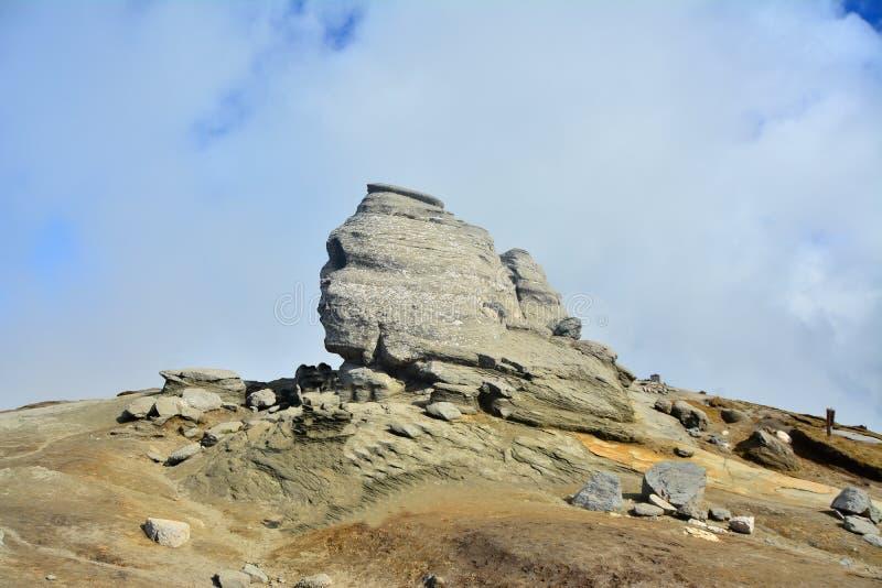 The Sphinx Of Bucegi. Stock Images