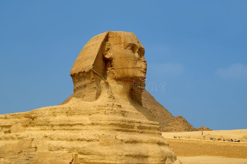 Sphinx cairo egypt royalty free stock photography