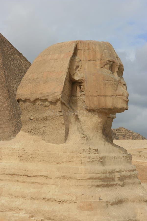 Sphinx Cairo Egypten royaltyfria bilder