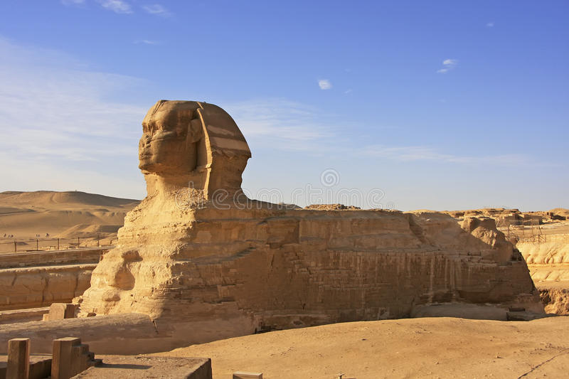 The Sphinx, Cairo stock image