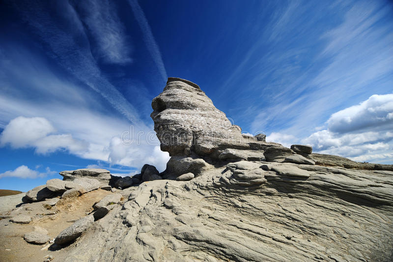 Sphinx de Bucegi imagem de stock royalty free