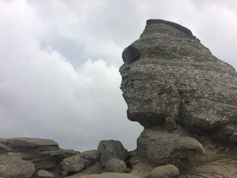 Sphinx de Bucegi photographie stock
