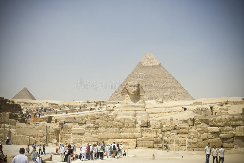 Sphinx de Giza foto de stock royalty free