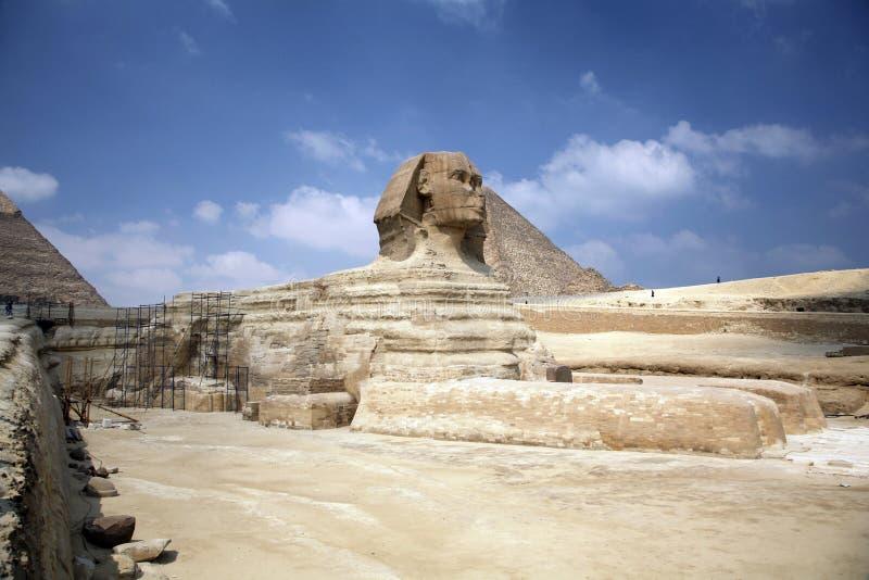 Sphinx de l'Egypte images stock