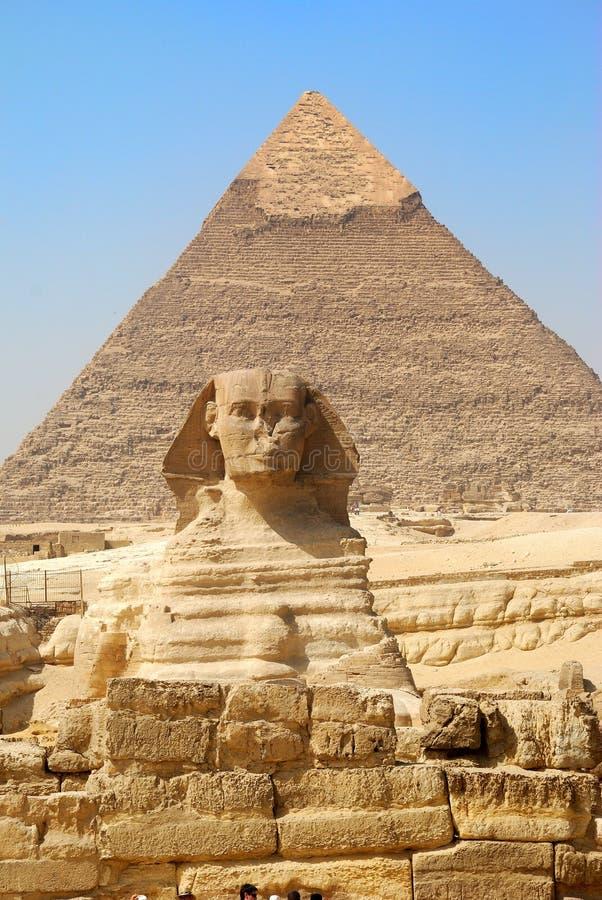 sphinx de l'Egypte image stock