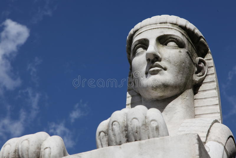 Sphinx egiziano immagine stock libera da diritti