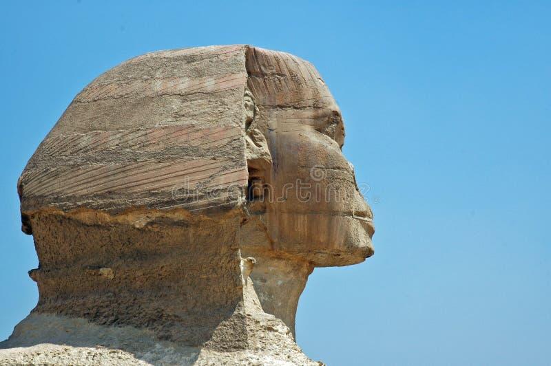 Sphinx in Giza. lizenzfreies stockfoto