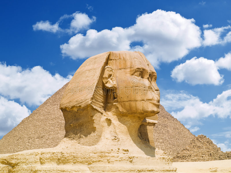 Download The Sphinx Of Giza Royalty Free Stock Photo - Image: 7638685