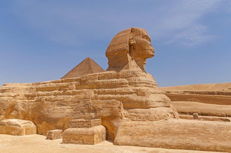 Sphinx grand de Giza photographie stock libre de droits