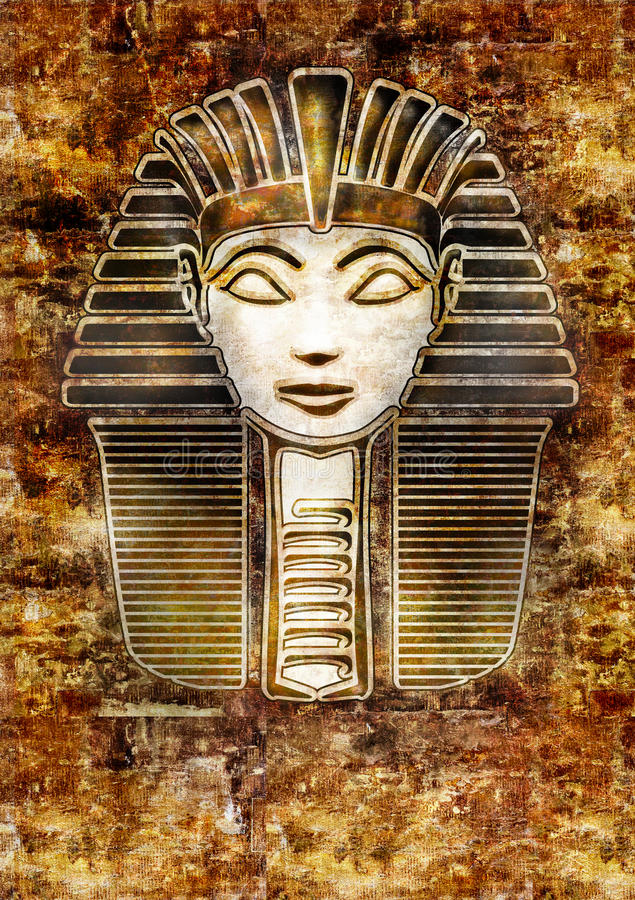 Download Sphinx Head - Hatshepsut Pharaoh Stock Illustration - Illustration: 18263330