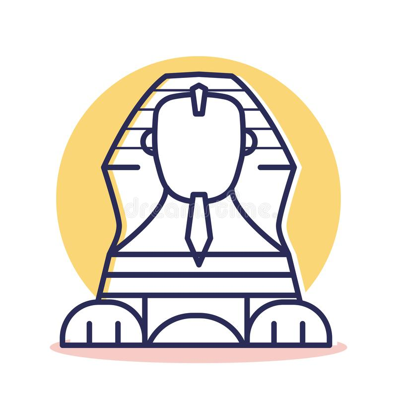 Free Sphinx Icon - Travel And Destination Royalty Free Stock Image - 137640256