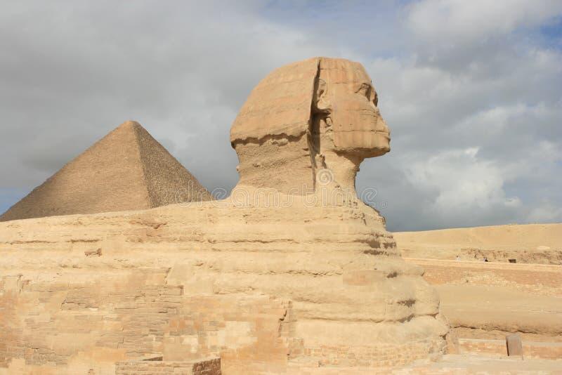 Sphinx, le Caire Egypte photo libre de droits