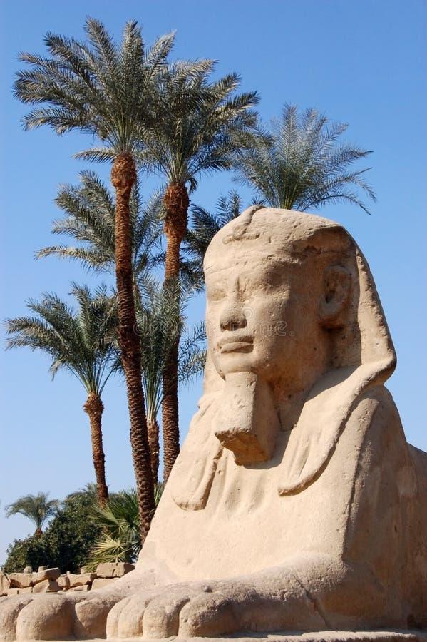 Sphinx, Luxor Stock Image
