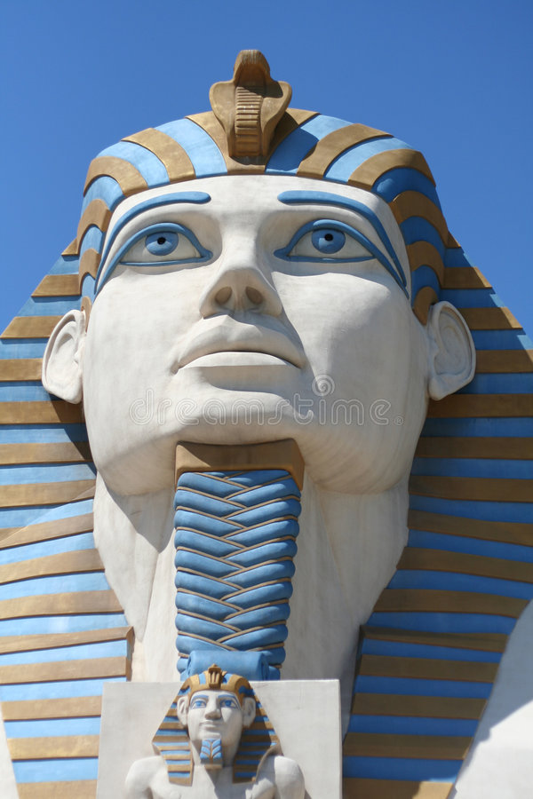 Download Sphinx at the Luxor editorial photo. Image of hotel, attraction - 3098971