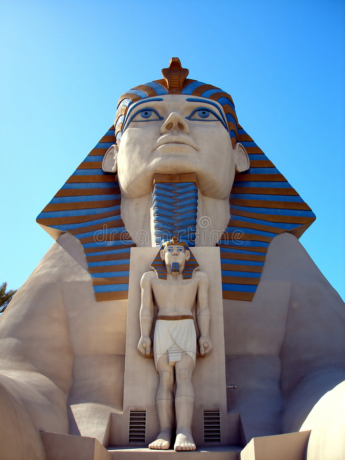 Download Sphinx Statue, Luxor Hotel, Las Vegas Editorial Stock Photo - Image: 8716493