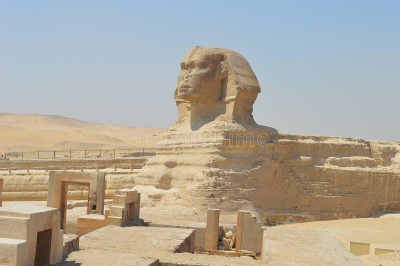 Sphinx von Giza lizenzfreies stockbild