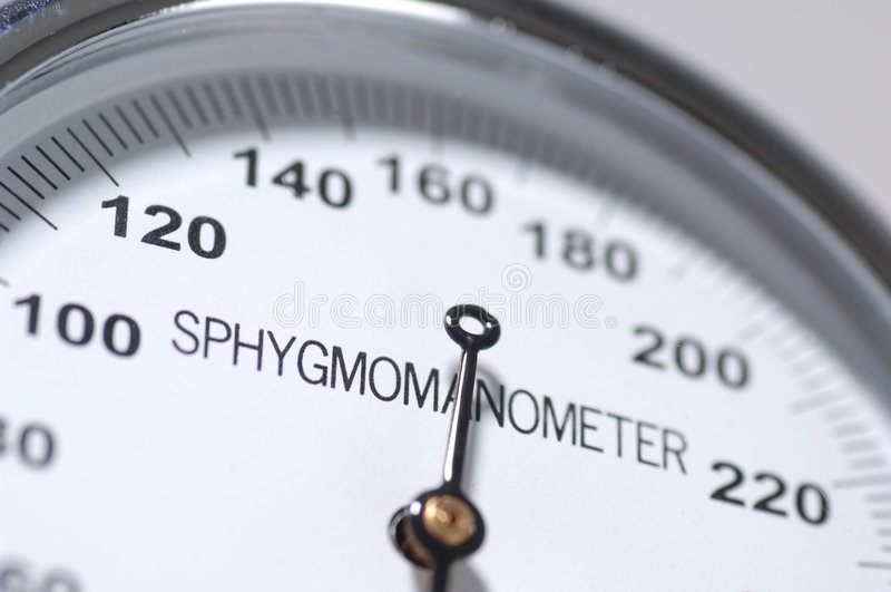 Sphygmomanometer fotografia stock libera da diritti