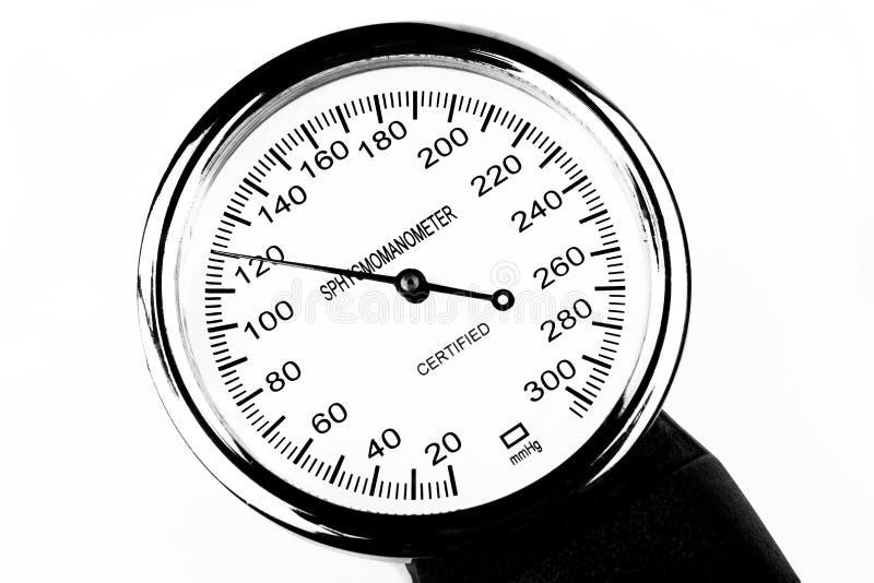 Sphygmomanometer fotografering för bildbyråer