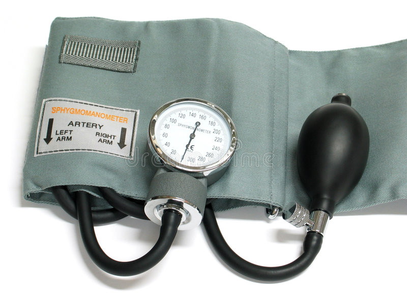 Sphygmomanometer Images stock