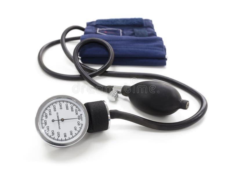 Sphygmomanometer blood pressure gauge royalty free stock images