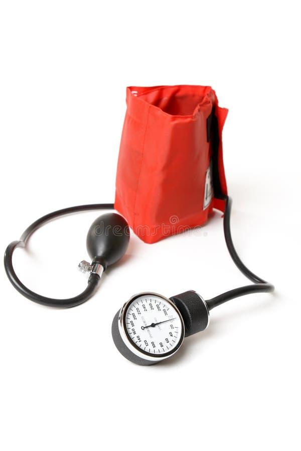 Sphygmomanometer - BP-Manschette lizenzfreie stockbilder