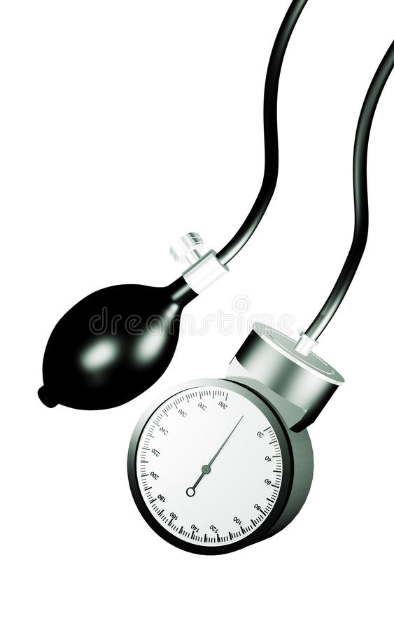 Sphygmomanometer Stock Illustration Illustration Of