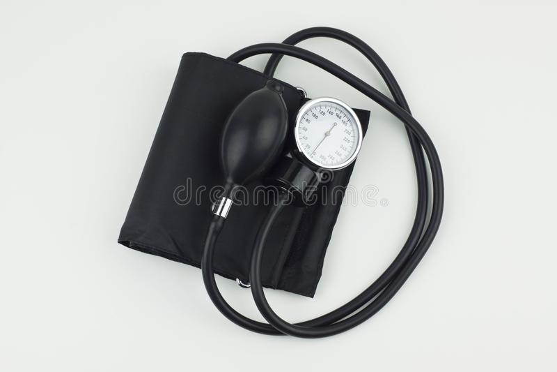 Sphygmomanometer high resolution image depicting blood pressure control. Image stock image